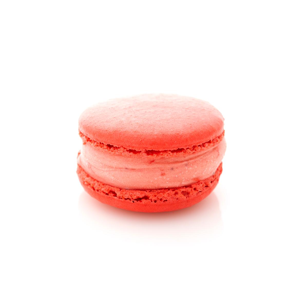 Macaron Ice epaisse fraise